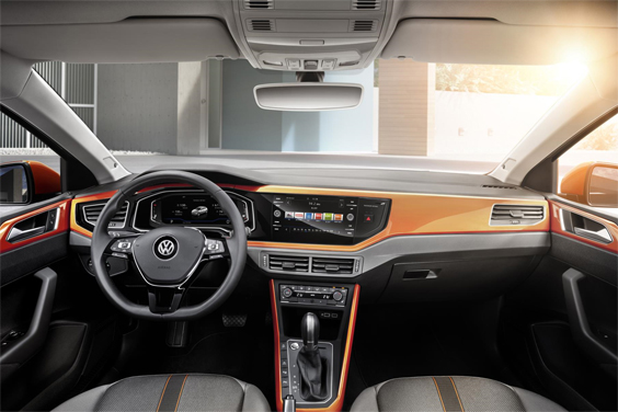 volkswagen polo car review interior