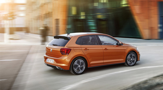 volkswagen polo car review rear