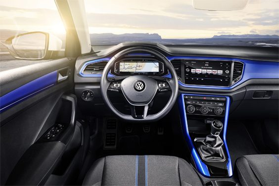 volkswagen t-roc car review interior