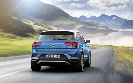 volkswagen t-roc car review rear