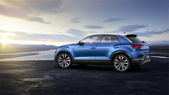 volkswagen t-roc car review stationary