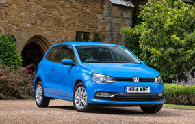 vw polo 1.4 front