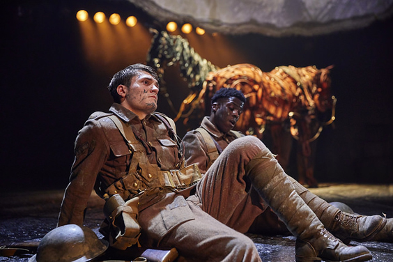 war horse review bradford alhambra february 2018 soldiers