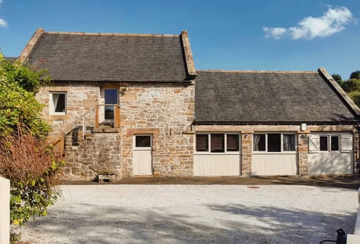 waterside barn derbyshire review exterior