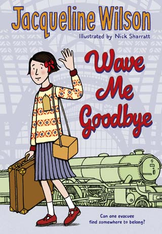 wave me goodbye jacqueline wilson children book review cover