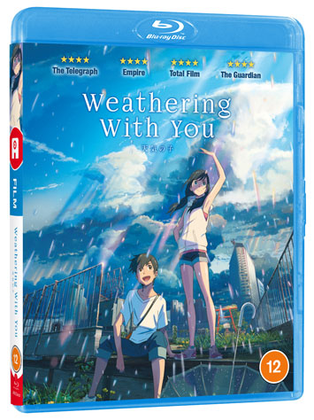 weathering with you film review cover