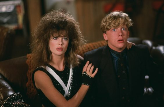 weird science film review kelly