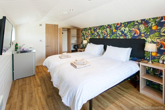 wenningdale escapes yorkshire review bedroom
