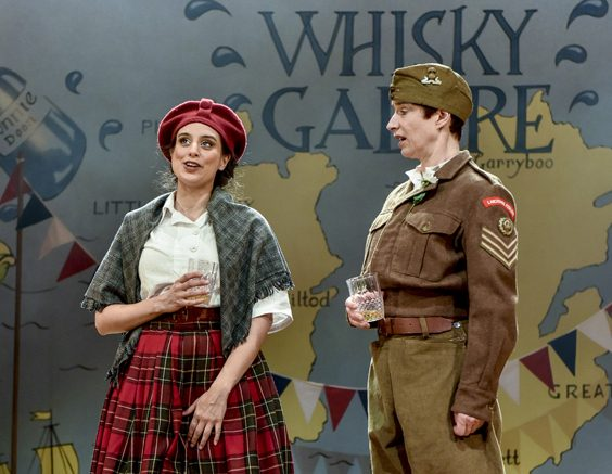 whisky galore review hull truck theatre may 2018 all female cast