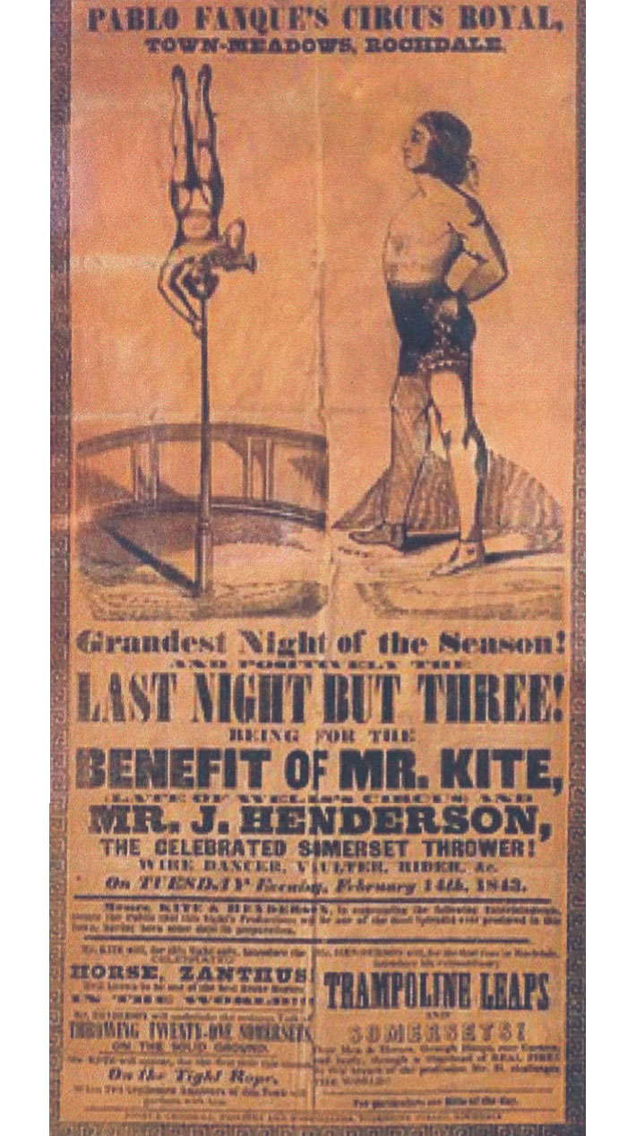 white cloth hall kirkgate leeds history pablo fanque poster being for the benefit of mr kite