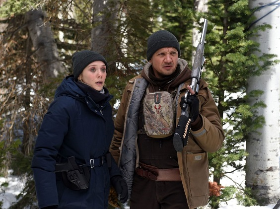 wind river film review renner olsen