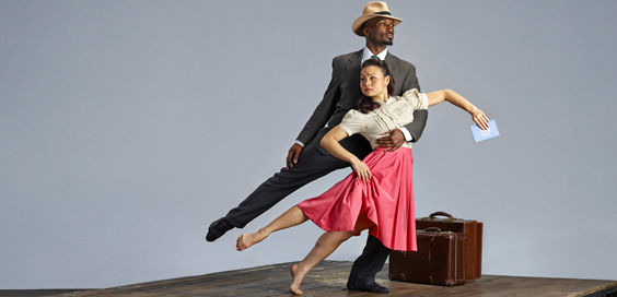 windrush review west yorkshire playhouse february 2018 phoenix dance theatre