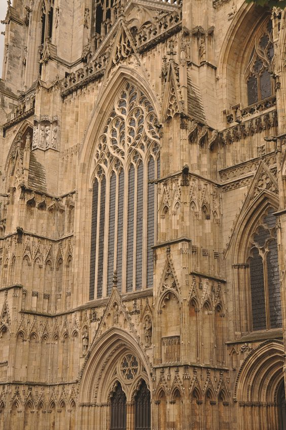 york minster history profile cathedral front