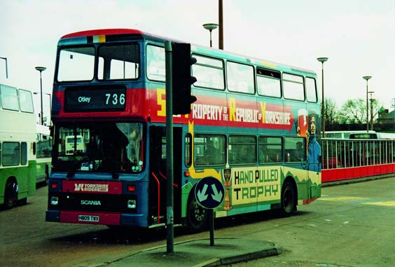 yorkshire rider buses history Alexander-bodied Scania N113
