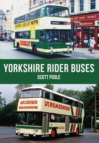 yorkshire rider buses history front cover