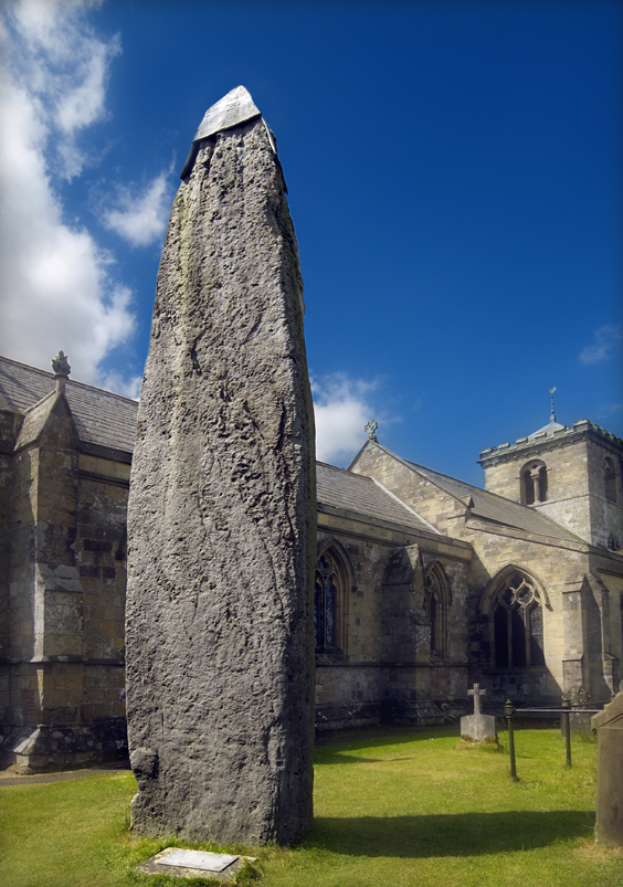 yorkshire's megalithic sites rudston monolith