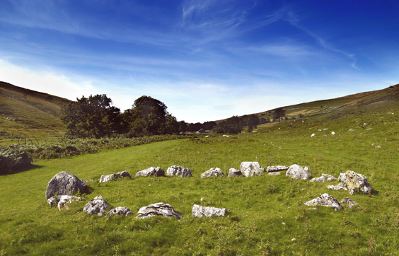yorkshire's megalithic sites twelve apostles Yockenthwaite