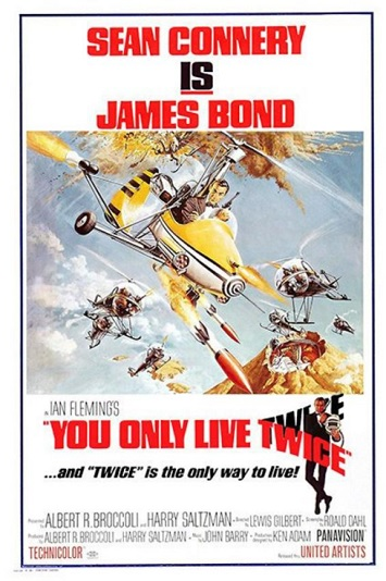 you only live twice film review poster