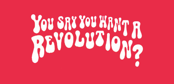 you say you want a revolution book review logo