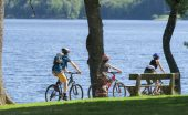 New Cycling Circuits in The Morvan lake