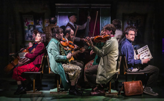 amelie the musical review bradford alhambra july 2019 band