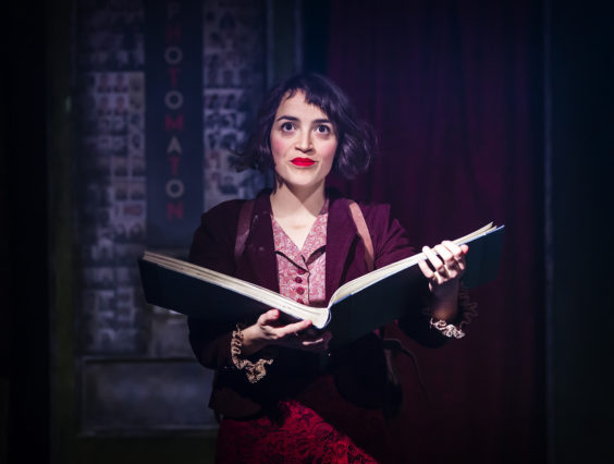 amelie the musical review bradford alhambra july 2019 book
