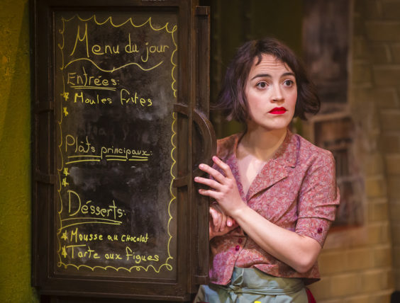 amelie the musical review bradford alhambra july 2019 cafe