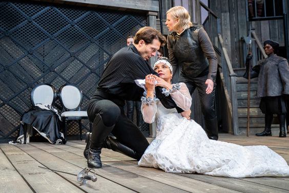 hamlet shakespeare's rose theatre july 2019 review death