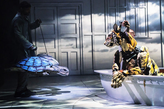 life of pi review sheffield crucible july 2019 review tiger