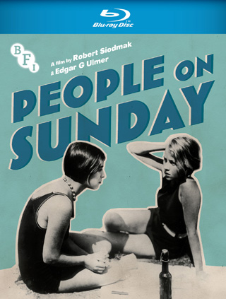 people on a sunday film review cover