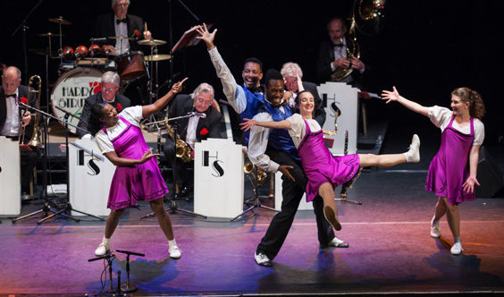 swinging at the cotton club review hull truck theatre june 2019 stage