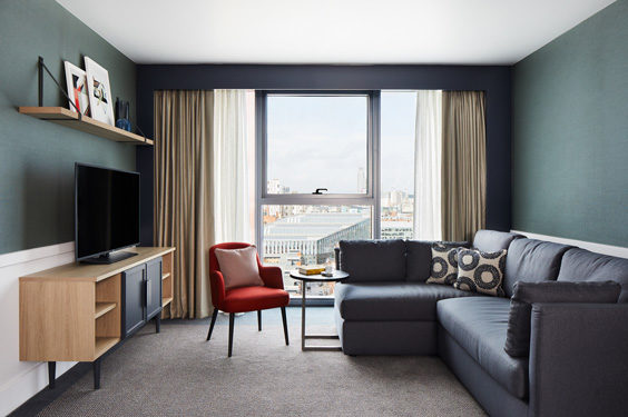 the lume manchester hotel review room
