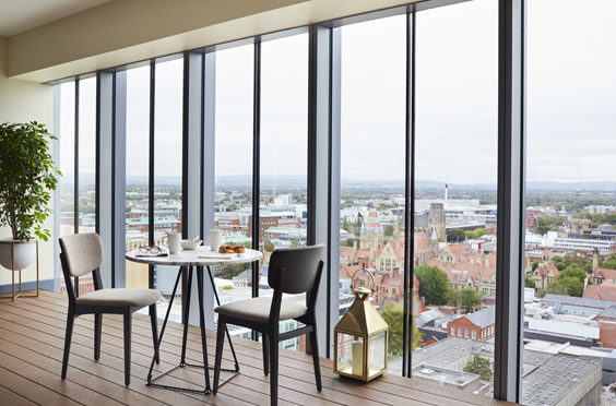 the lume manchester hotel review view