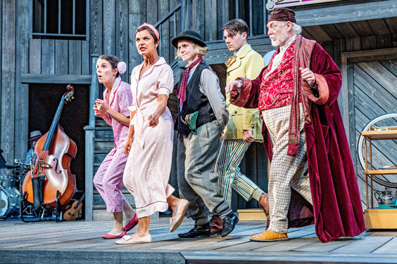 twelfth night review shakespeares rose theatre july 2019 cast