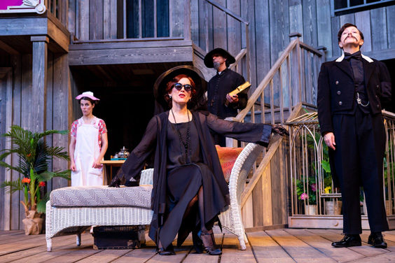 twelfth night review shakespeares rose theatre july 2019 stage